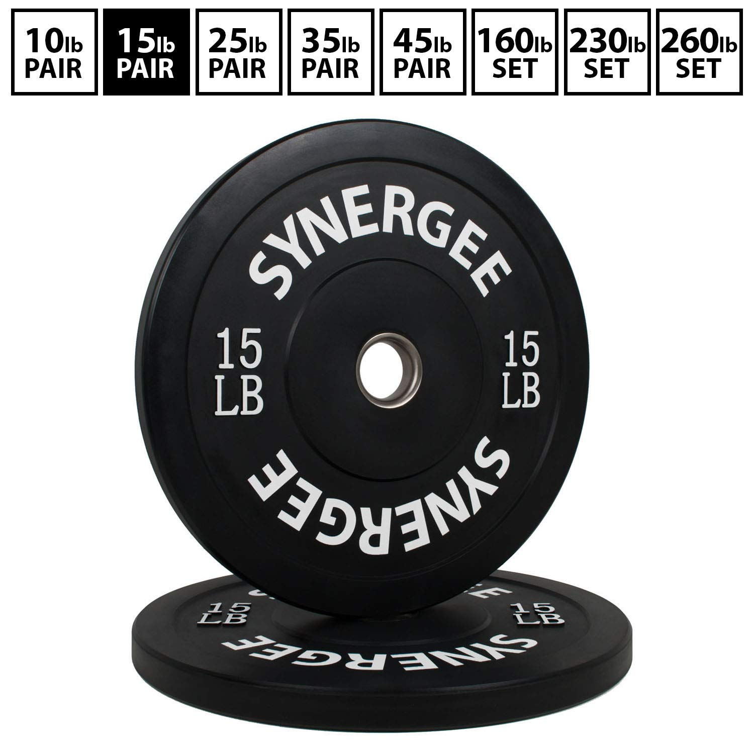 York Barbell 29023Iso-Grip Rubber Encased Steel Composite Olympic Grip Plate 25 lb Pro-Motion Distributing Black Direct