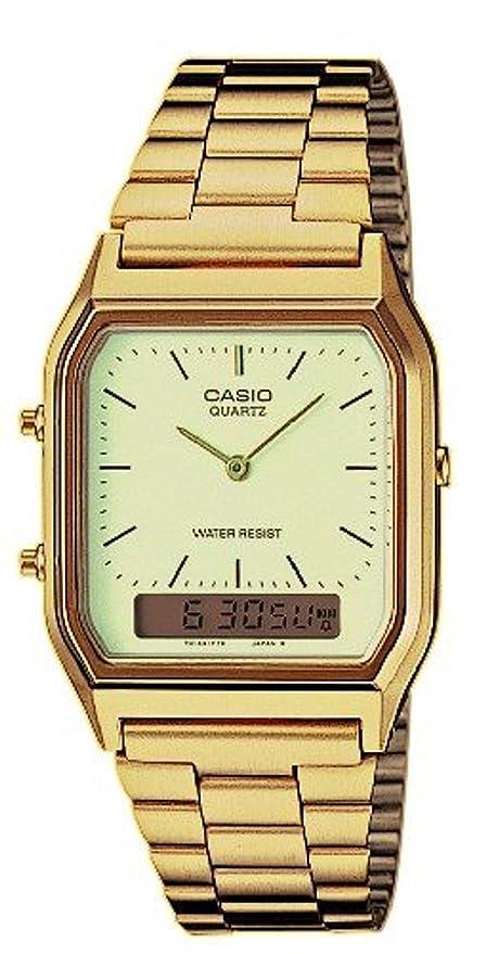 bed8f0369d0920 Casio Collection Unisex-Adult's Watch Bracelet AQ-230GA-9DMQYES, ...