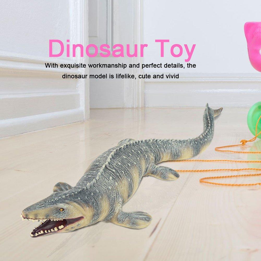 FTVOGUE 45CM Realistico Mosasaurus Dinosaur Animal Display Modello Figura Giocattoli per Bambini Regalo di Natale