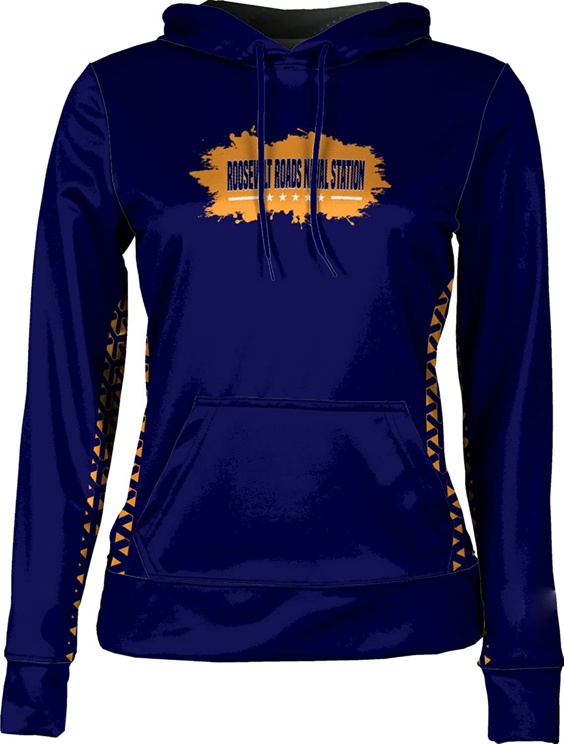 Women's Roosevelt Roads Naval Station Military Geometric Pullover Hoodie