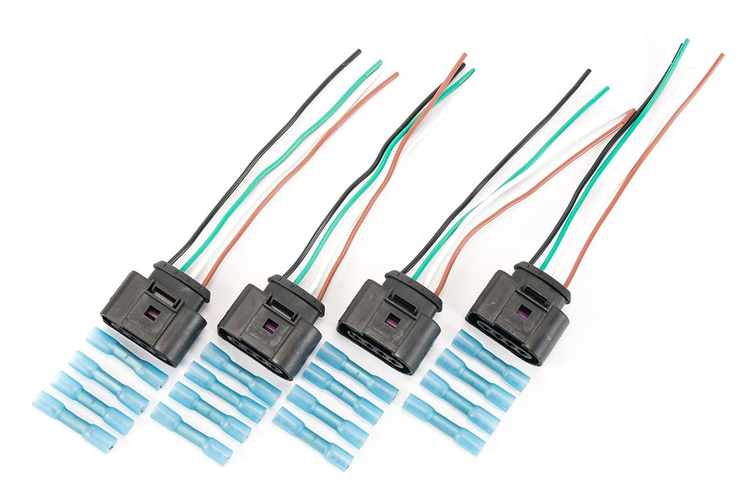 Ignition Coil Pack Replacement Connector Harness Set Of 4 Vw Wiring Connectors Fits Volkswagen Audi