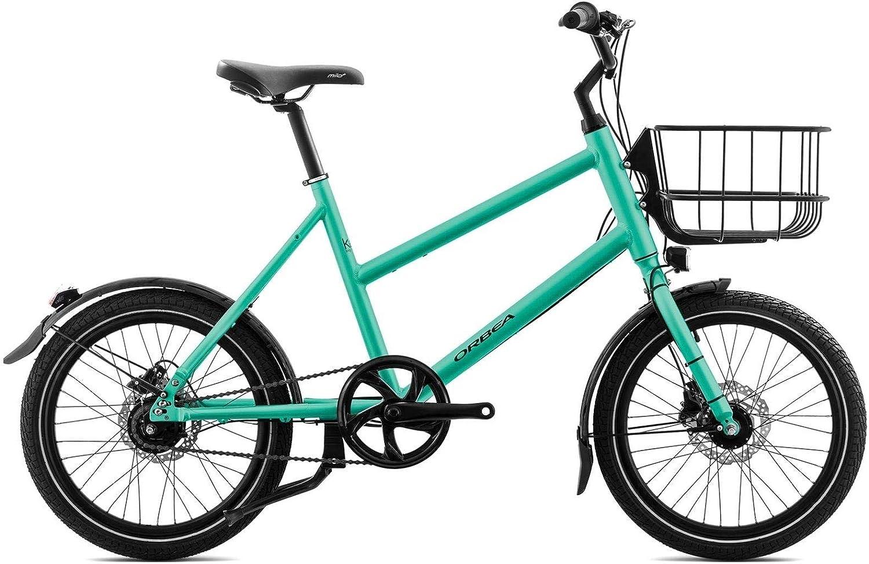 Orbea katu 20 City Bike Bicicleta 1 marchas Shimano Ciudad de aluminio frenos de disco cesta Luz, i443, color mint: Amazon.es: Deportes y aire libre