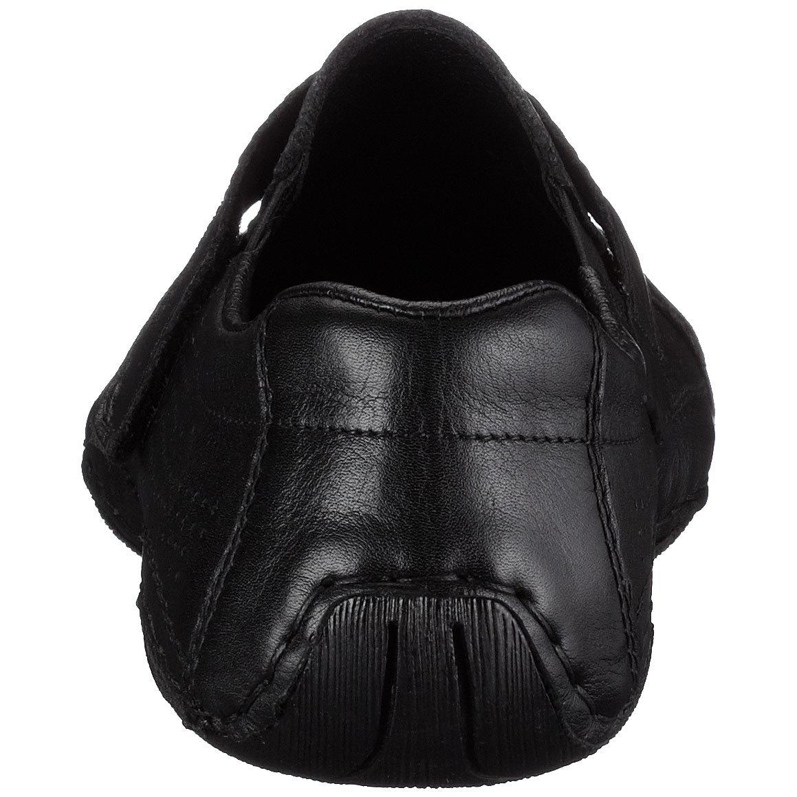 Rieker Joschua 09365 00, Herren Slipper, schwarz, (schwarz