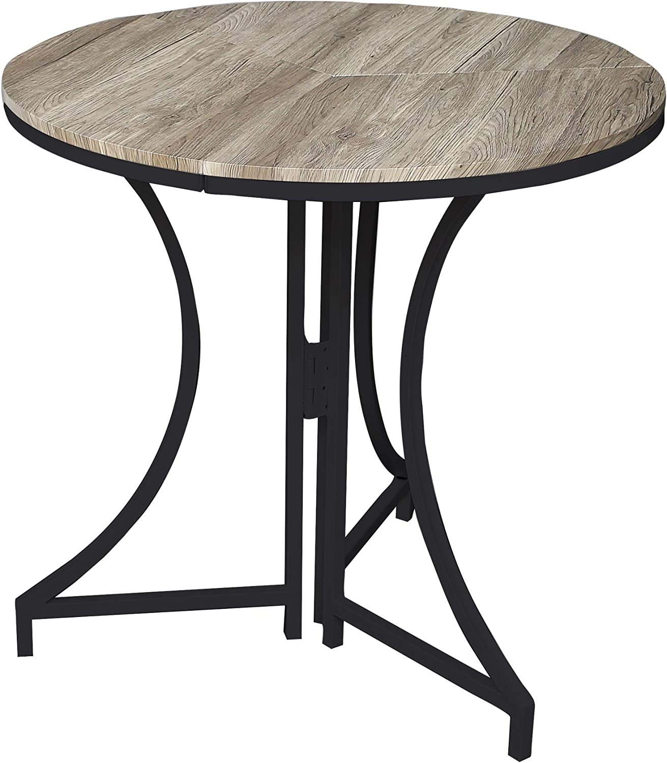 - Amazon.com: SpaceMaster Round Folding Black Table 31.5 X 31.5 X