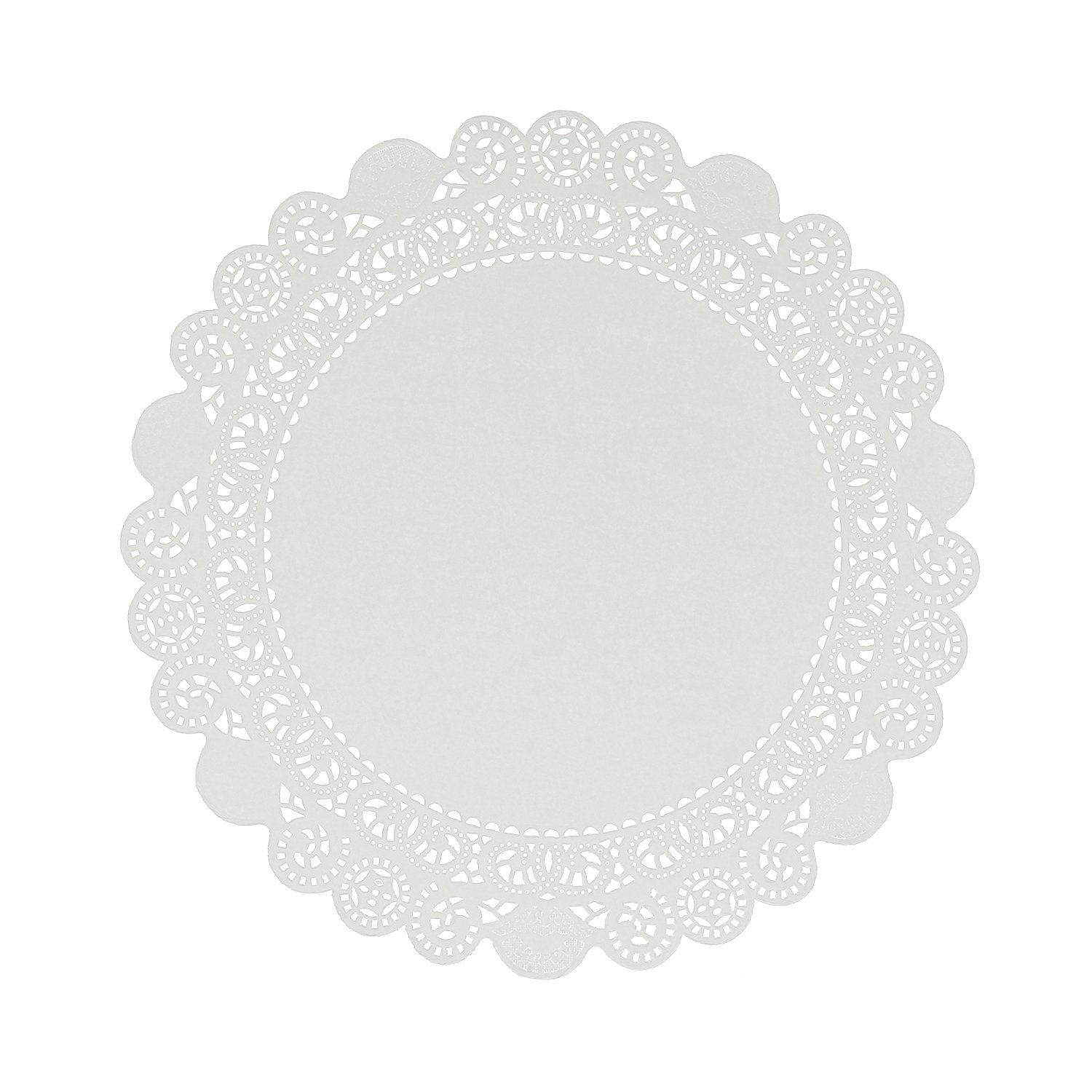 Royal 12'' Disposable Paper Lace Doilies, Package of 500