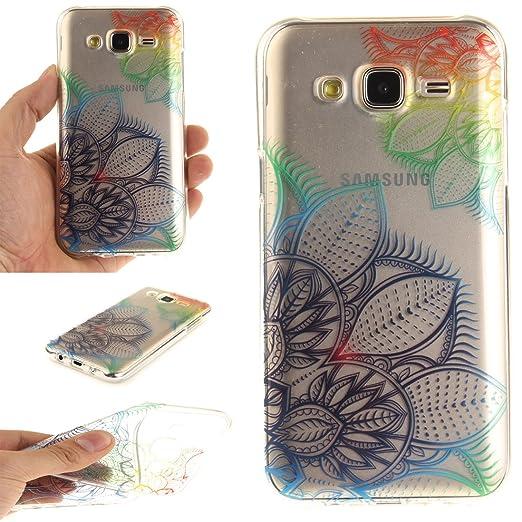 12 opinioni per Cover Samsung Galaxy J5 2015 SM-J500F Wanxida Custodia in Silicone TPU Cover