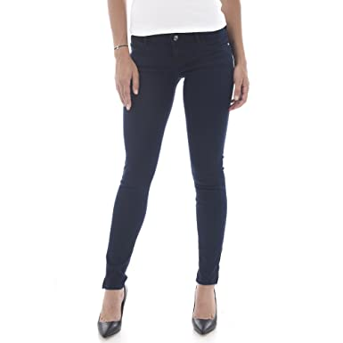 73d98e96f245 Guess Jeans Damen EU31 Dunkelblau W64AB8D27H0 - DKKA: Amazon.de ...