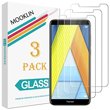 MOOKLIN Huawei Honor 7A Protector de Pantalla,[3 Piezas] [Anti ...