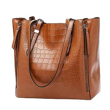 Amazon.com: Caliente!! Las mujeres de color sólido bolsos ...
