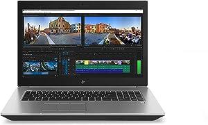 "2020 HP ZBook 17 G5 17.3"" FHD (1920x1080) Mobile Workstation Laptop (Intel 6-Core Xeon E-2176M, 64GB DDR4 RAM, 2TB PCIe SSD+2TB HDD, Quadro P4200) 2 x Thunderbolt 3, HDMI 2.0, Mini DP, Windows 10 Pro"