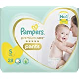 Pampers Premium Care Small Size Diapers Pants, 28 Count