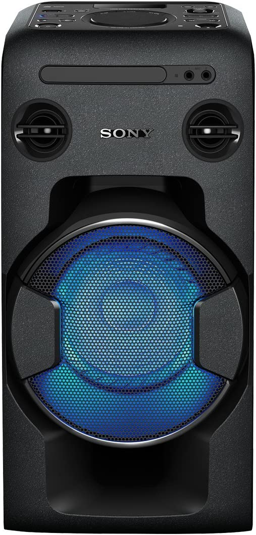 Sony MHCV11 - Sistema de Audio en casa, Altavoz para Fiesta de Alta Potencia ( con Bluetooth, CD, Radio FM, USB)