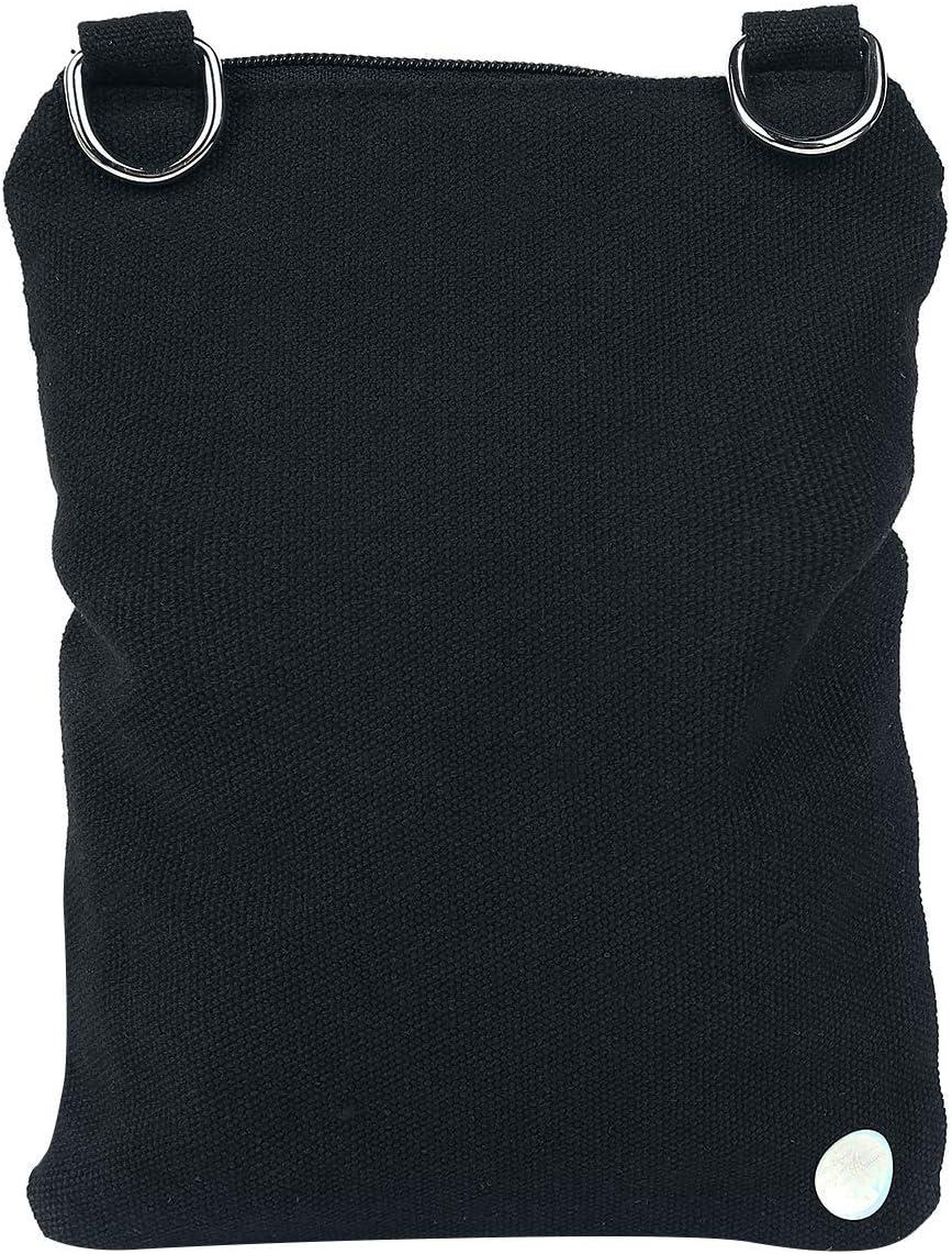 Sugar Skull Shoulder Bag Black 17.5x23x2cm