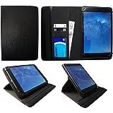 Mediacom SmartPad i10 3G 10.1 Pollici Tablet Nero Universale 360 Gradi di Rotazione PU Pelle Custodia Case Cover di Sweet Tech