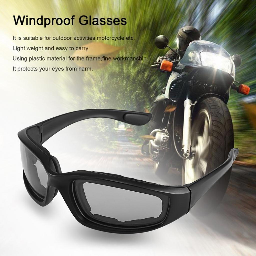 antiUV gafas resistentes al viento Geshiglobal a prueba de polvo Gafas de motocicleta para deportes al aire libre