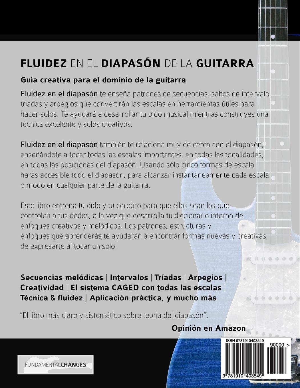 Fluidez en el diapasón de la guitarra: Edición en español: Amazon.es ...