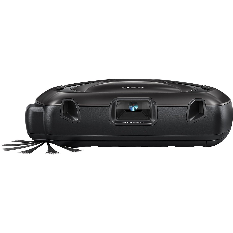 AEG RX9-1-SGM Robot Aspirador, 60 min de autonomía, Vision 3D, App Rx9, 0.7 L, ClimbForceDrive + AEG Ark 2 RX9 Performance Kit, Cepillo Principal, ...