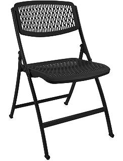 Pleasant Amazon Com Mity Lite Flex One Folding Chair Black 4 Pack Creativecarmelina Interior Chair Design Creativecarmelinacom