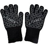 laptop EN407 Flamine BBQ Grilling Cooking guanti guanti da forno resistente al calore lungo 33 cm per extra protezione per avambraccio 1 paio