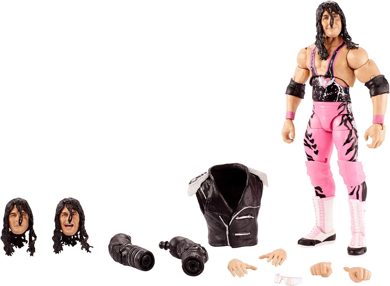 Amazon Com Wwe Ultimate Edition Bret Hitman Hart Action Figure Toys Games