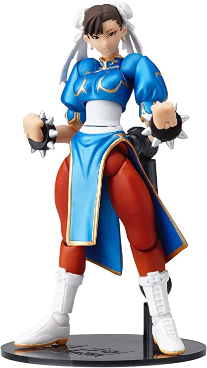 Amazon Com Revoltech Street Fighter Online 003 Chun Li Action Figure Toys Games
