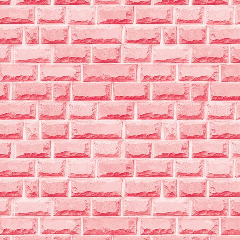 YWLINK 3D Brick Stone RúStico Autoadhesivo Etiqueta De La Pared ...