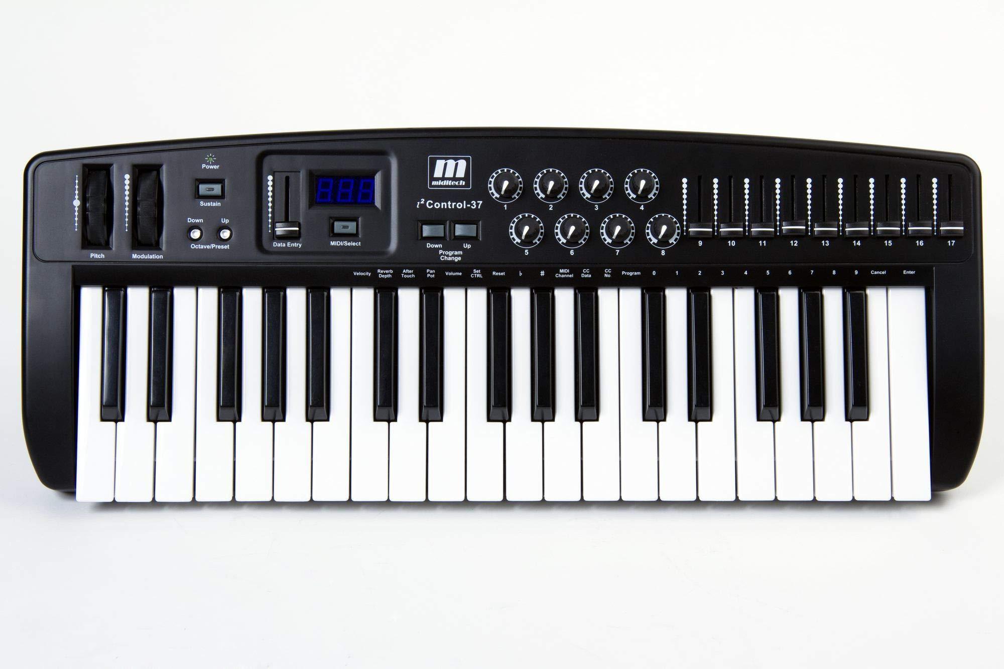 i2 Control 37 USB MIDI Controller Keyboard