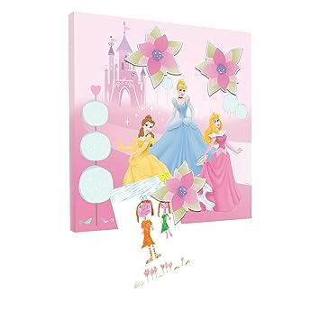 Disney Princess Magnetic Wall Art Canvas (30 x 30 cm): Amazon.co.uk ...