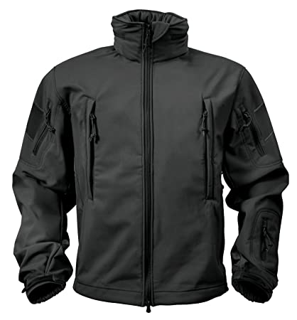 dde95c0eac63d Amazon.com: Rothco Special Ops Tactical Soft Shell Jacket: Sports ...