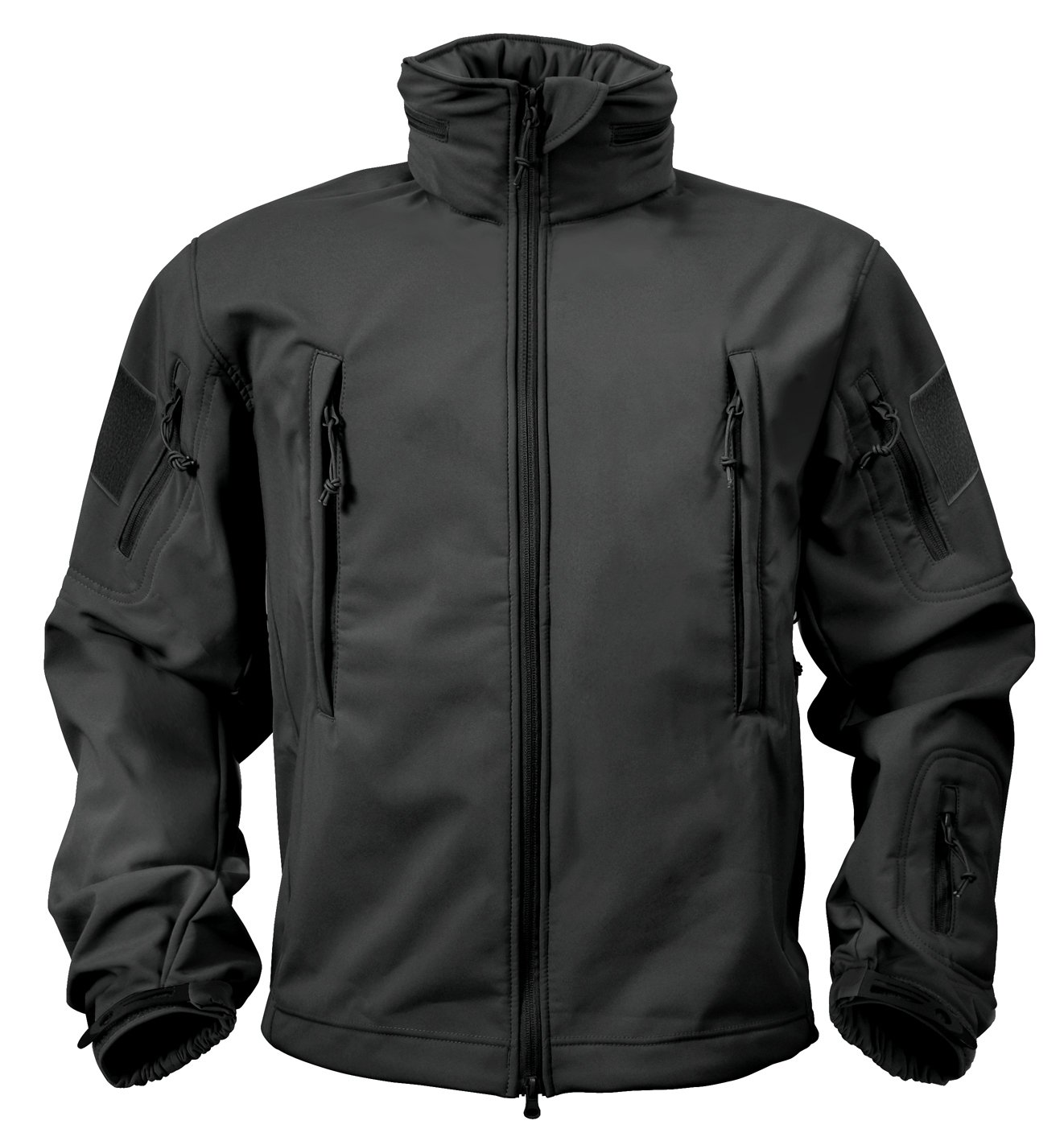Rothco Special Ops Softshell Jacket, Black, 3X-Large by Rothco (Image #2)