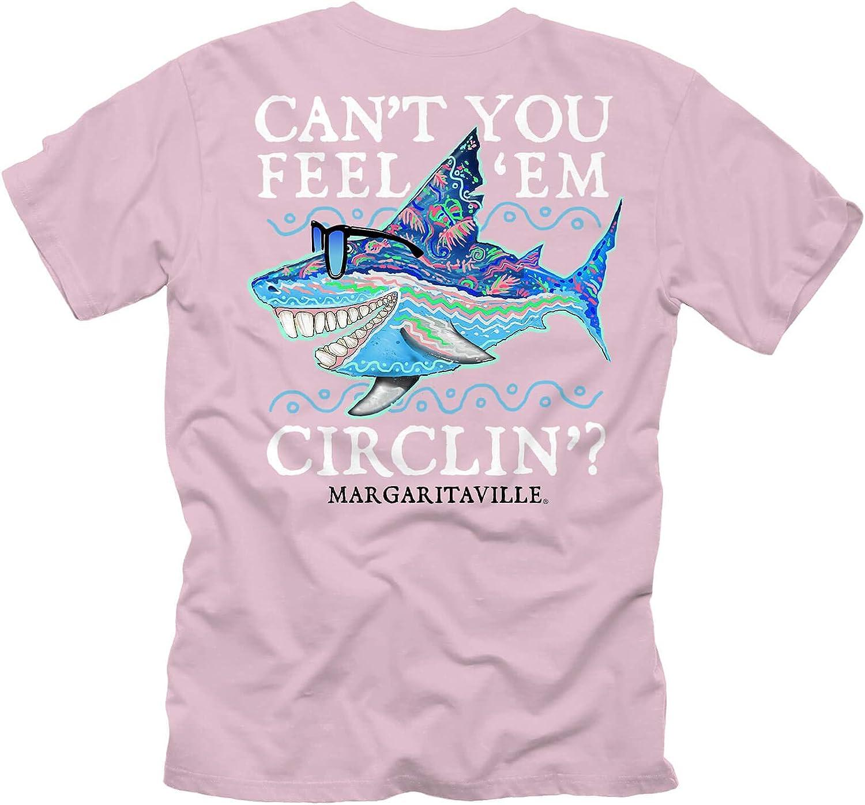 Margaritaville Men's Can't You Feel 'Em Circling Graphic Short Sleeve T-Shirt