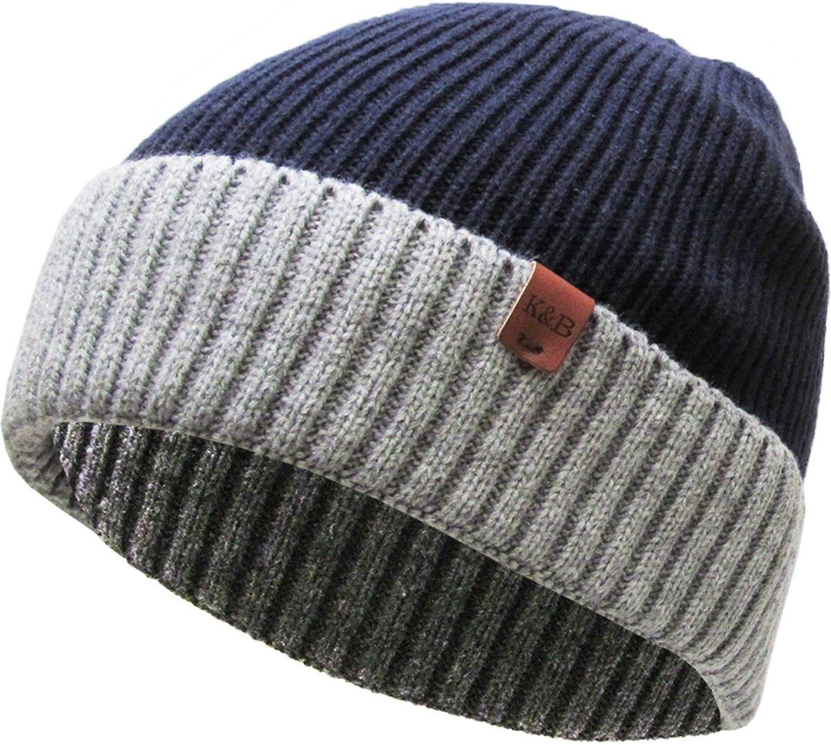 KBETHOS HAT メンズ B0741B9MPB One Size (264) Navy/Light Gray (264) Navy/Light Gray One Size