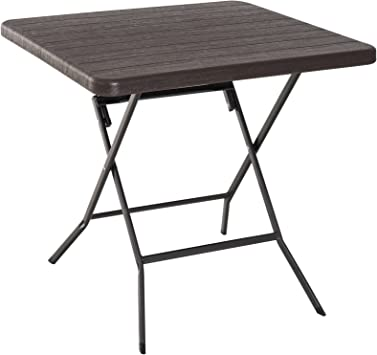 Outsunny Table Pliante de Jardin Table de Camping Pliable en ...