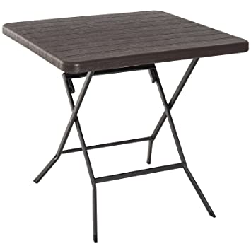 Outsunny Table Pliante de Jardin Table de Camping Pliable en ...