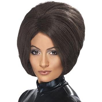 Paje para mujer peluca Bob peluca corta peluca de pelo Victoria Beckham 90er años estrella el