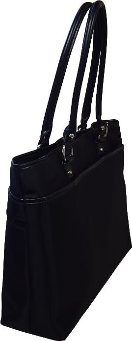 Franklin Covey Women's Business Laptop Tote Bag Black