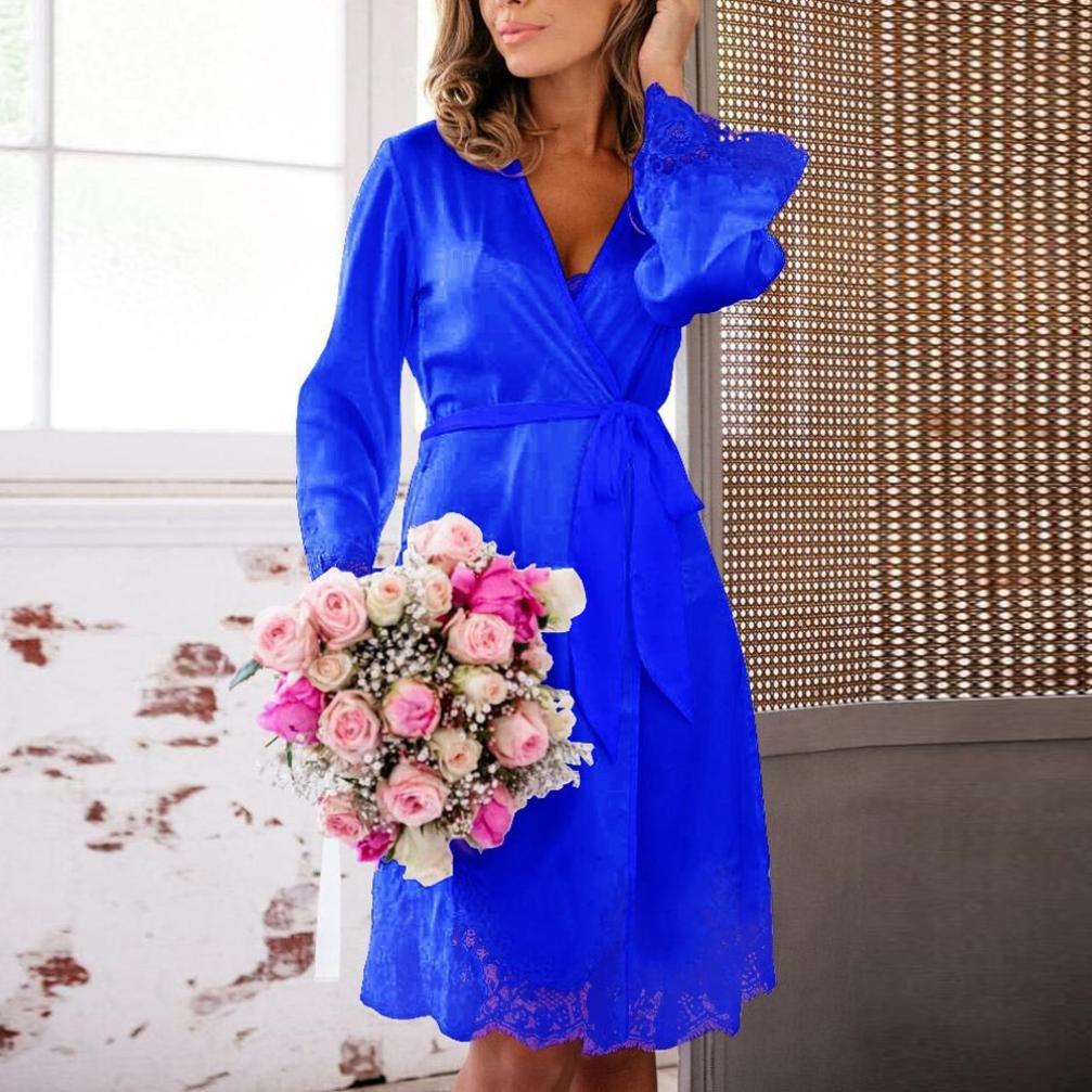 FAMILIZO Mujeres Lace Lingerie Babydoll Vestido Pijamas Ropa Interior Ropa de Dormir Camisones: Amazon.es: Ropa y accesorios