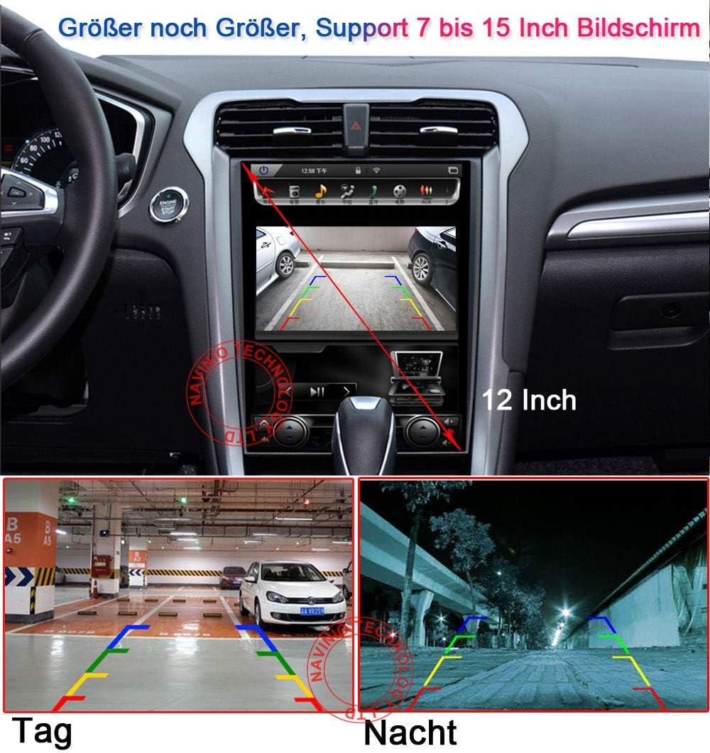 720 Pixels 1000 TV Lines Auto Kofferraum Griff R/ückfahrkamera f/ür Audi A6L Q7 A3 A4 A6 A8 A5 S4 S6 S3 RS4 RS6 Einparkkamera Wasserdicht Nachtsicht 1280