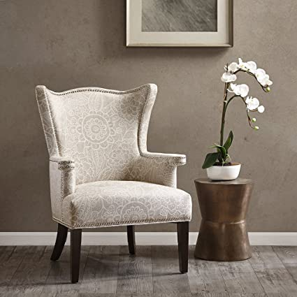 Cabot Accent Chair Natural/Ivory See Below