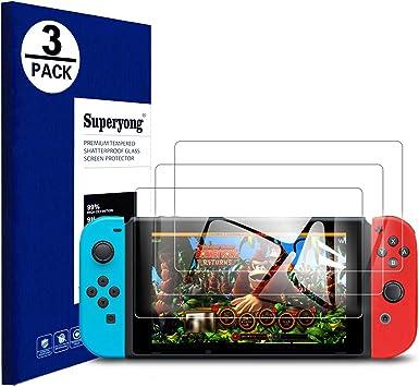 Superyong para Protector de Pantalla Nintendo Switch Mini,Nintendo ...