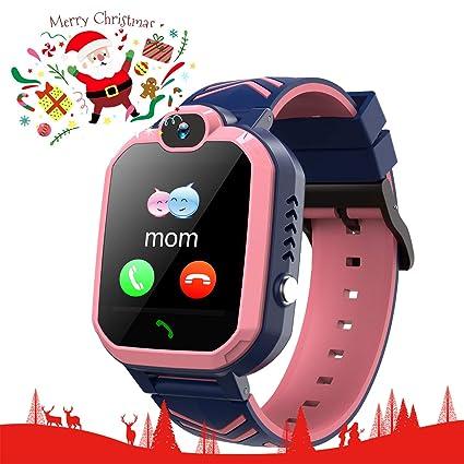 Kids Smart Watch IP67 Waterproof Smartwatch for kids SOS Camera Voice Chat Anti Disturb Mode Security Zone Math Game Kids-GPS-Waterproof-Smart-Watch ...