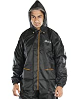 Newera Galaxy Polyester Raincoats for men(galaxy_bk)