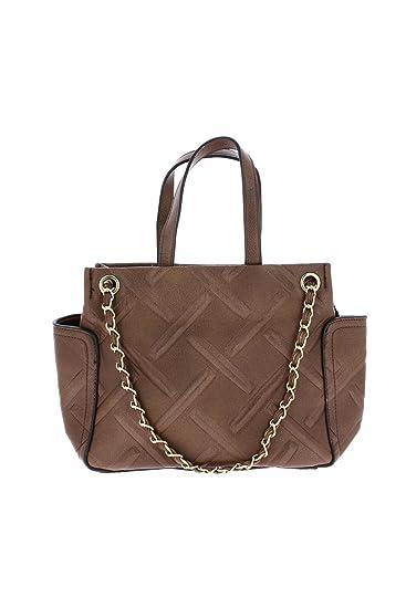994e3d3f9b Sac à main glamour à 4 anses marron - LANGRAND - - TU - Marron  Amazon.fr   Vêtements et accessoires