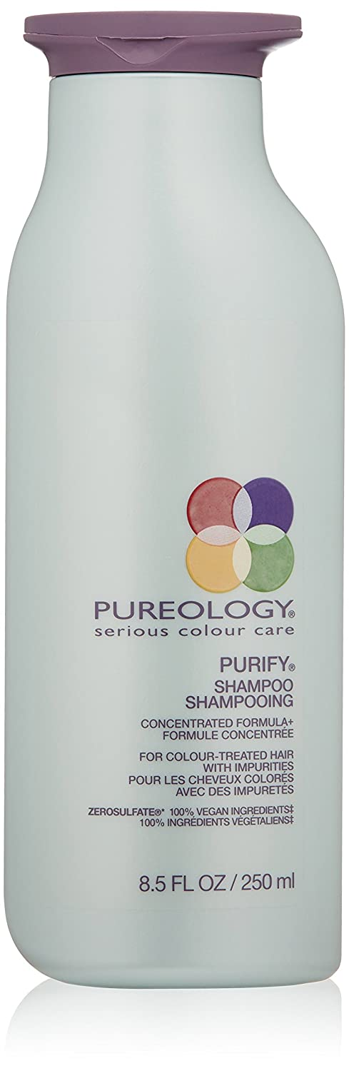 Pureology Purify Cleansing Shampoo | For Color Treated Hair | Sulfate-Free | Vegan | 8.5 oz.
