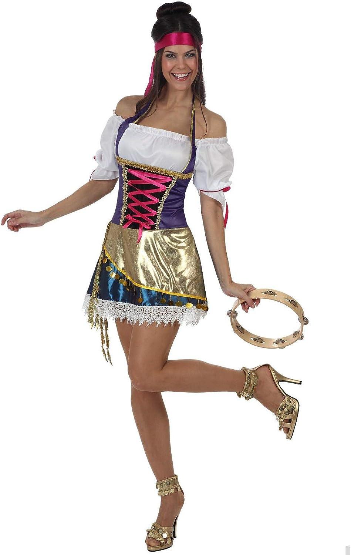 Desconocido Disfraz de gitana sexy para mujer: Amazon.es: Juguetes ...