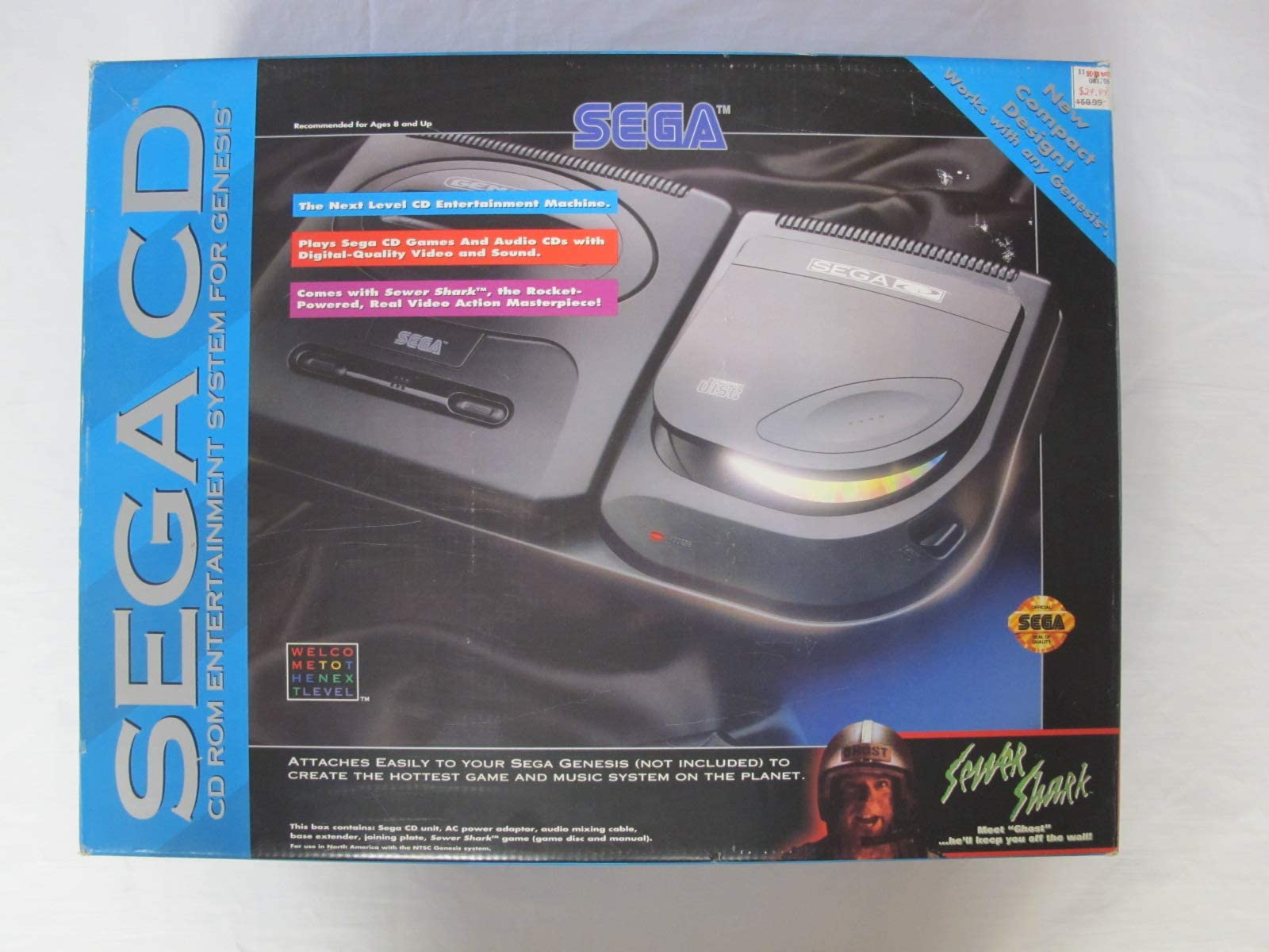 Amazon com: Sega CD Model 2 - Video Game Console: Video Games