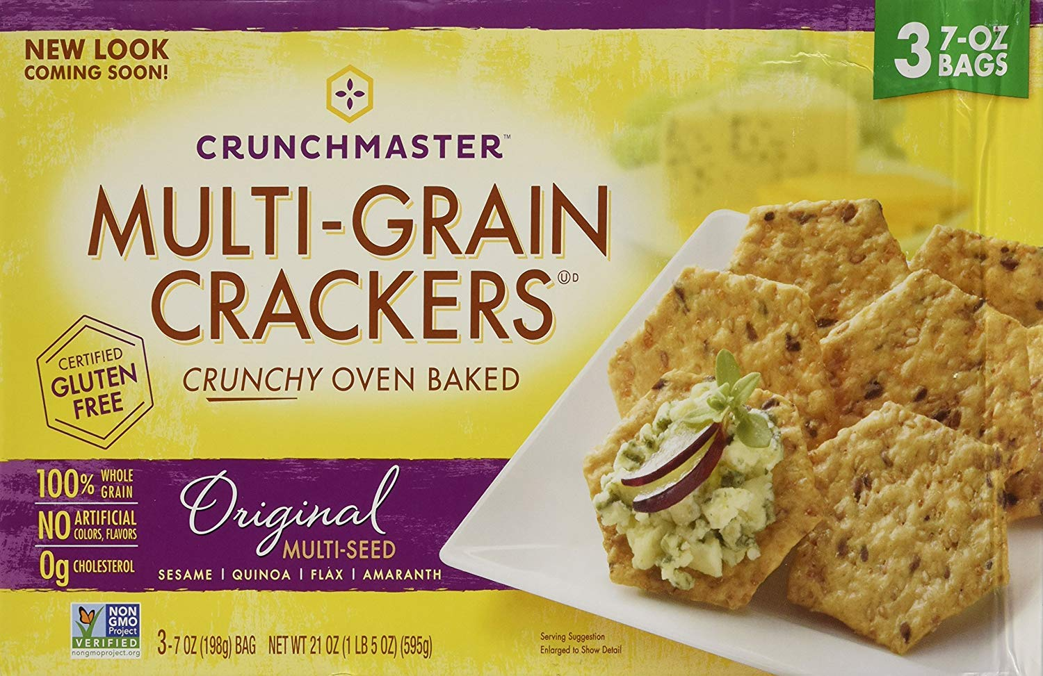 Crunchmaster Multi-Grain Crackers, 6 pk./7 oz. - PACK OF 2 by Unknown