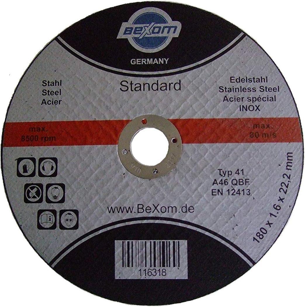 fer m/étal Olbrich-Industriebedarf Disque /à tron/çonner 180/x 1,6/mm pour acier inoxydable acier