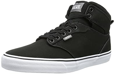 vans m atwood canvas blk/wht sneaker uomo