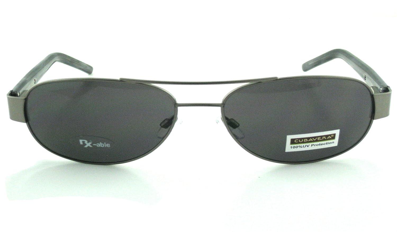 Cubavera 8003 Light Gunmetal Sunglasses